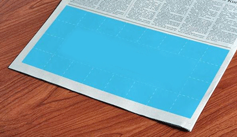 Paste your Ad in newspaper to check
