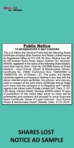 shares-lost-notice-ad-sample
