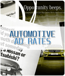 Automotive Newspaper Ad Rates