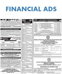 Financial Advertisement Tariff
