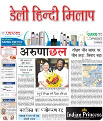 Daily Hindi Milap Display Ad Rate Card