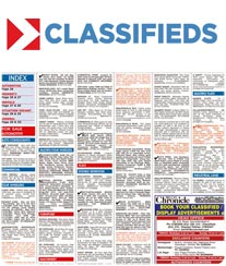 Deccan Chronicle Classified Ad Booking
