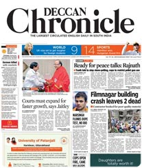 Deccan Chronicle Display Ad Rates