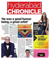 Hyderabad Chronicle Advertisement Tariff