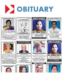 Deccan Chronicle Obituary Ad Rates