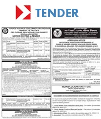 DC Tender Notice Ad Rates