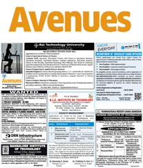 DH Avenues Advertisement Rates