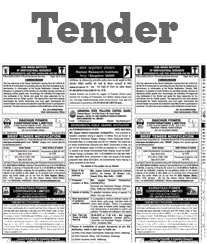 DH Tender Notice Advertisement Rate Card Kolkata