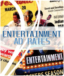 Entertainment Newspaper Ad Rates