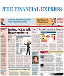 Financial Express Display Ad Rates