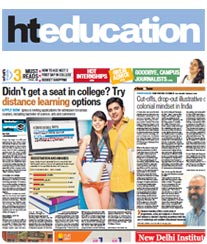 HT Education Advertisement Rate Card Indore