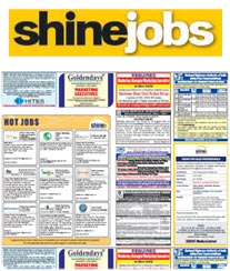 HT Shine Jobs Advertisement Rates Kolkata