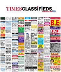 Navbharat Times Classified Ad Rates
