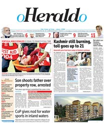 O Herald O Display Ad Rate Card Panjim