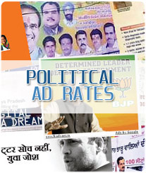 Political Ad Booking Moradabad