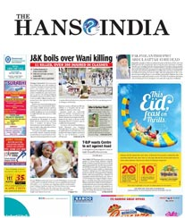 The Hans India Display Ad Rate Card