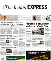 The Indian Express Display Ad Rates