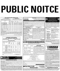 New Indian Public Notice Ad Rates
