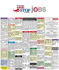 The Telegraph One Stop Jobs Advertisement Rates