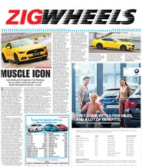 Times Zig Wheels Rate Card Baroda